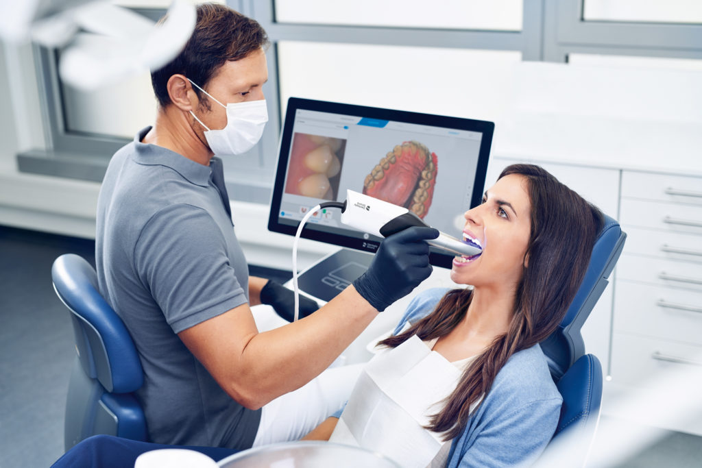 intraoral scanning